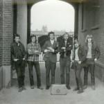 2 - Zimmermann 1972 bij ingang St.Alfonsus ULO Roermond