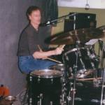 Bert van Delden drummer JFV-Band